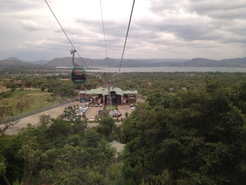 GREENinc and families went up the new Hartbeespoort cableway on Saturday